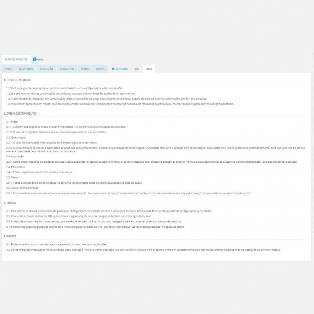 module - Edição rápida & em massa - Edição em Massa de Produtos - Actualização em massa - 8