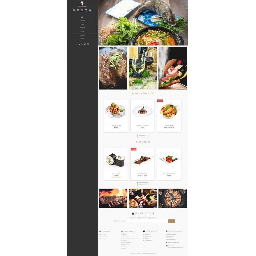 theme - Alimentos & Restaurantes - Universal Restaurant - 2