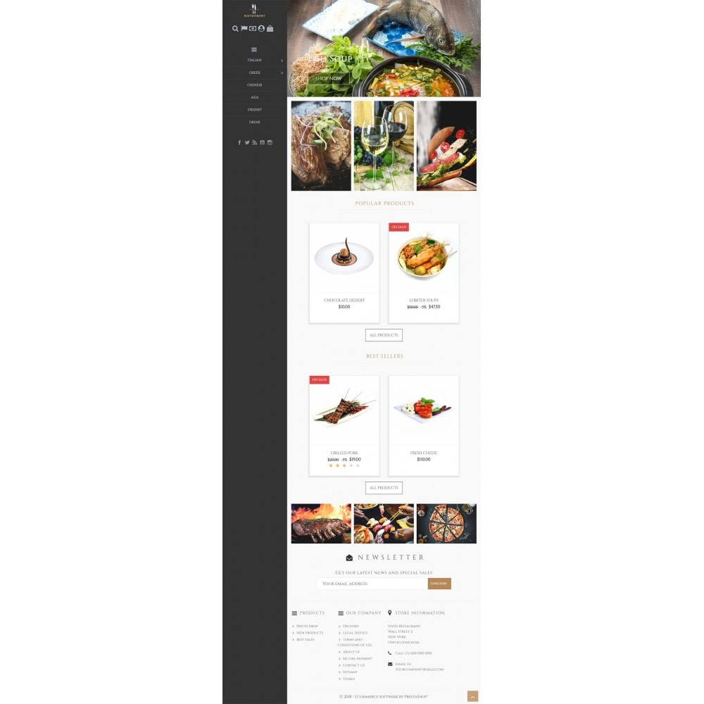 theme - Żywność & Restauracje - Universal Restaurant - 5