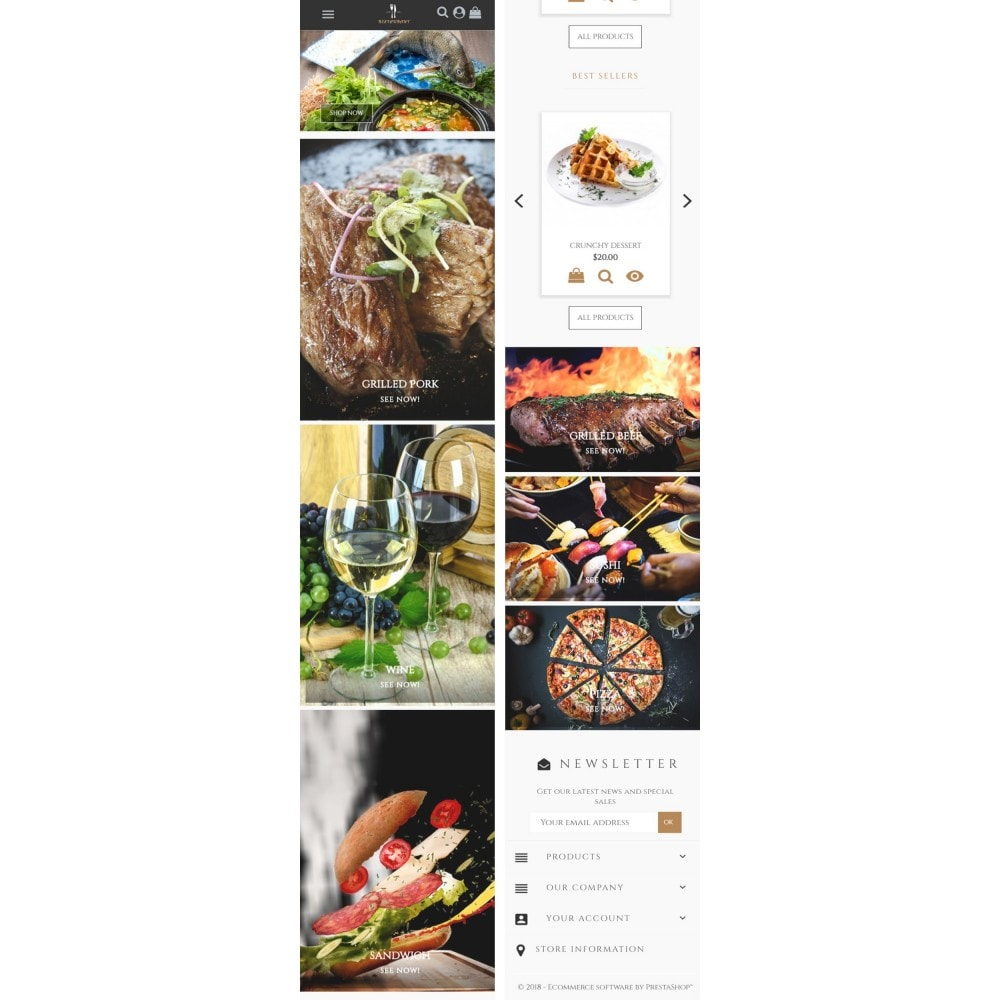 theme - Żywność & Restauracje - Universal Restaurant - 6