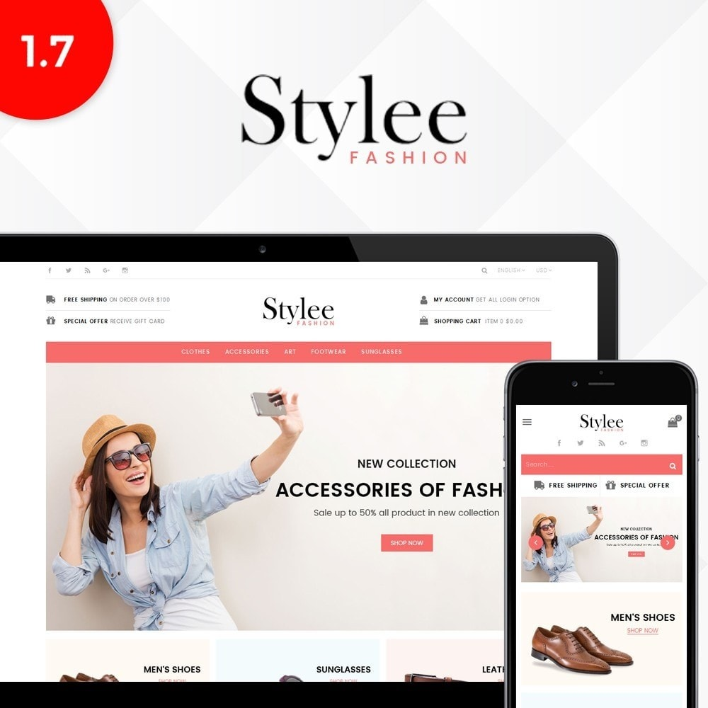 theme - Fashion & Shoes - Stylee Store - 1