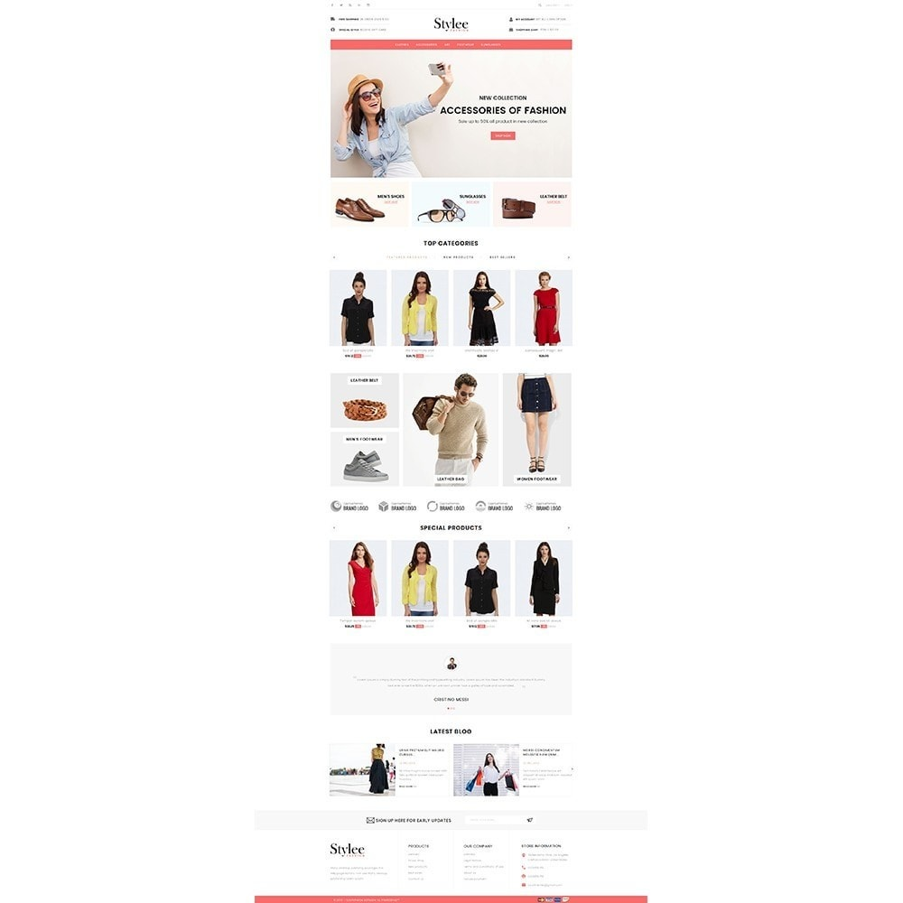 theme - Fashion & Shoes - Stylee Store - 2