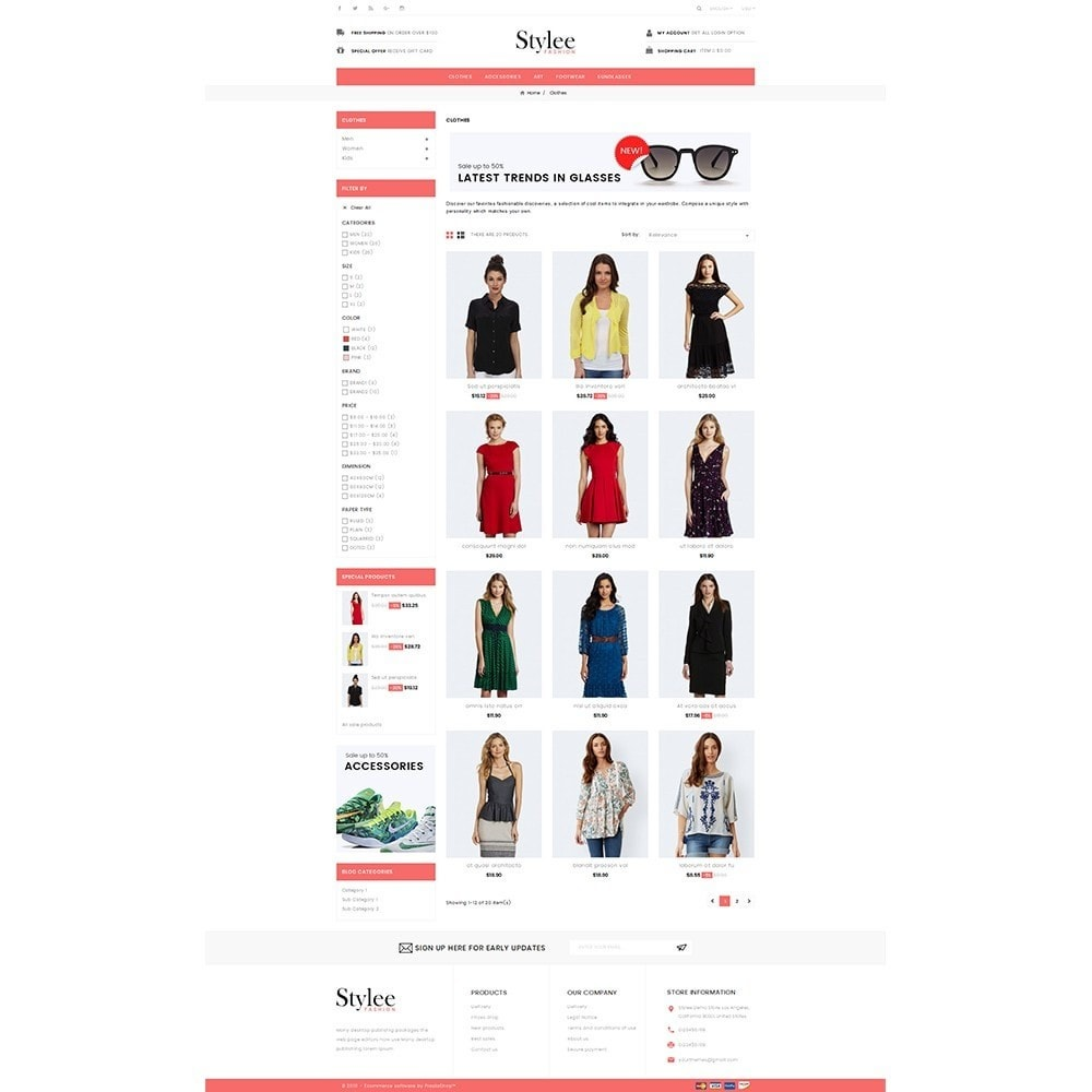 theme - Fashion & Shoes - Stylee Store - 3