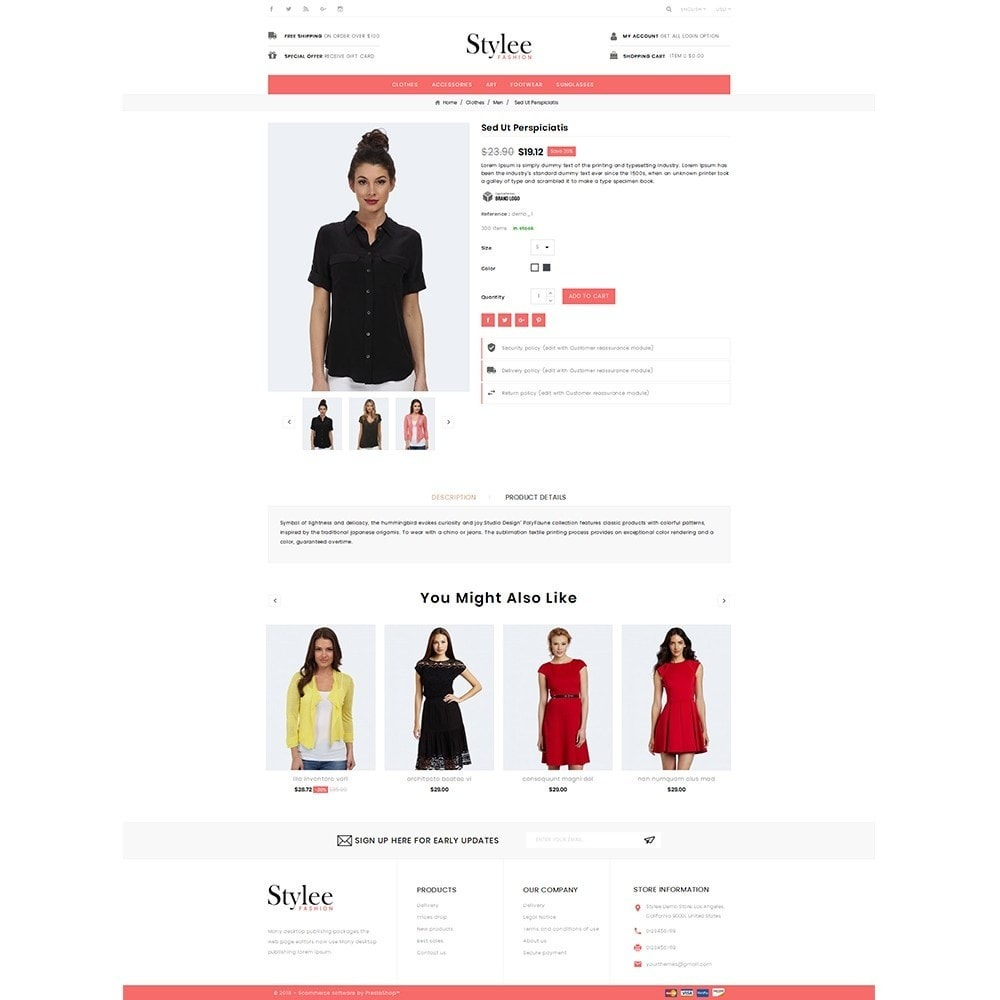 theme - Fashion & Shoes - Stylee Store - 5