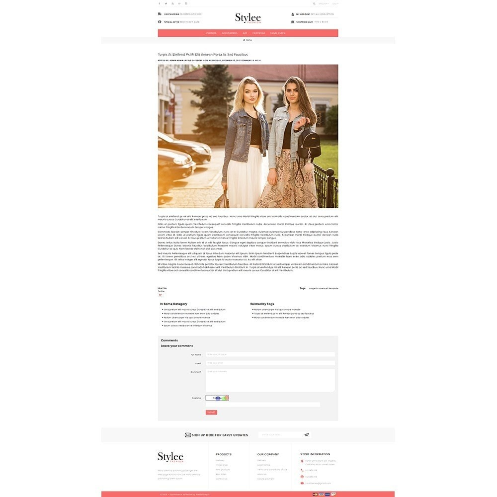 theme - Fashion & Shoes - Stylee Store - 6