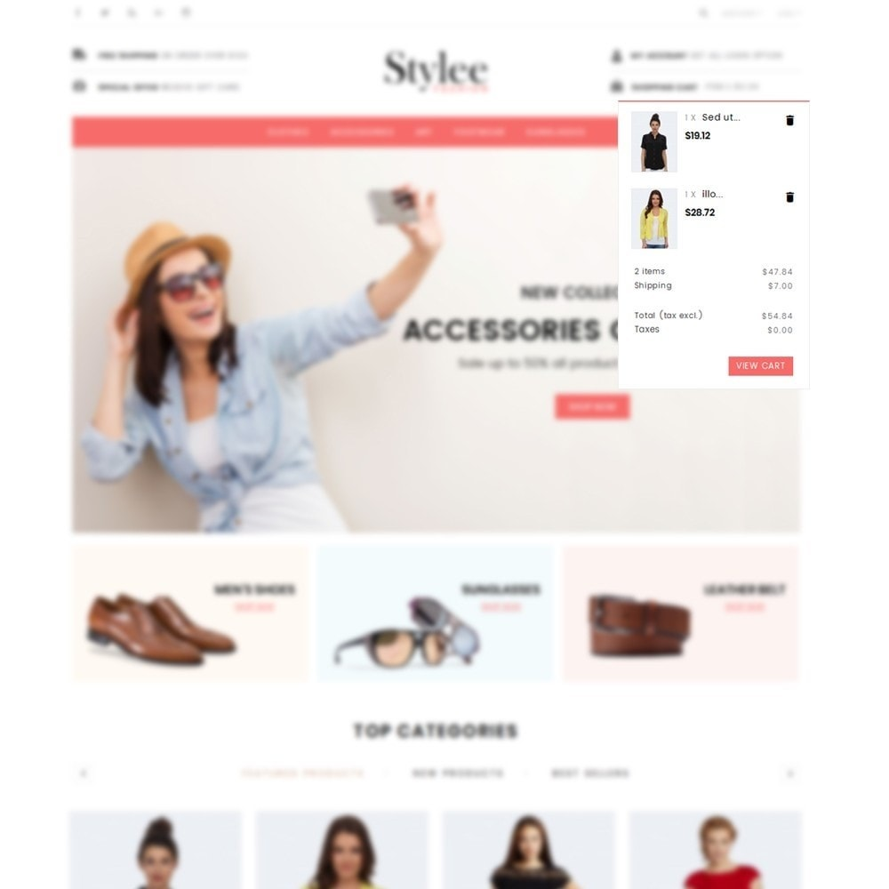 theme - Fashion & Shoes - Stylee Store - 8
