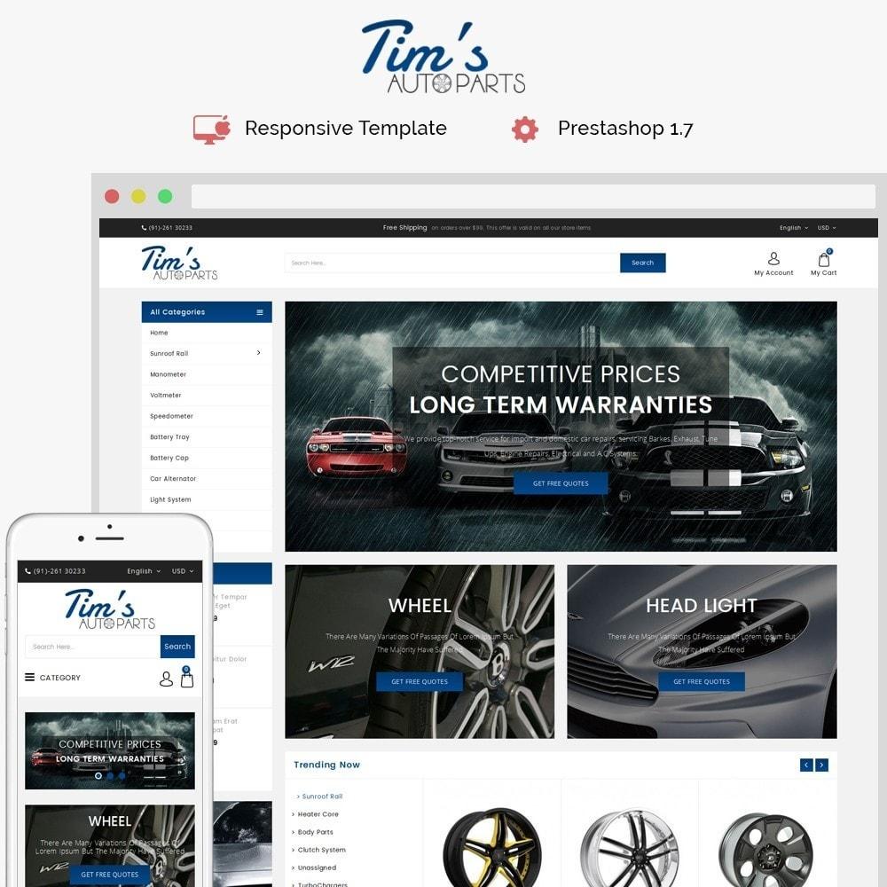 theme - Auto & Moto - Tim's Autoparts Store - 1