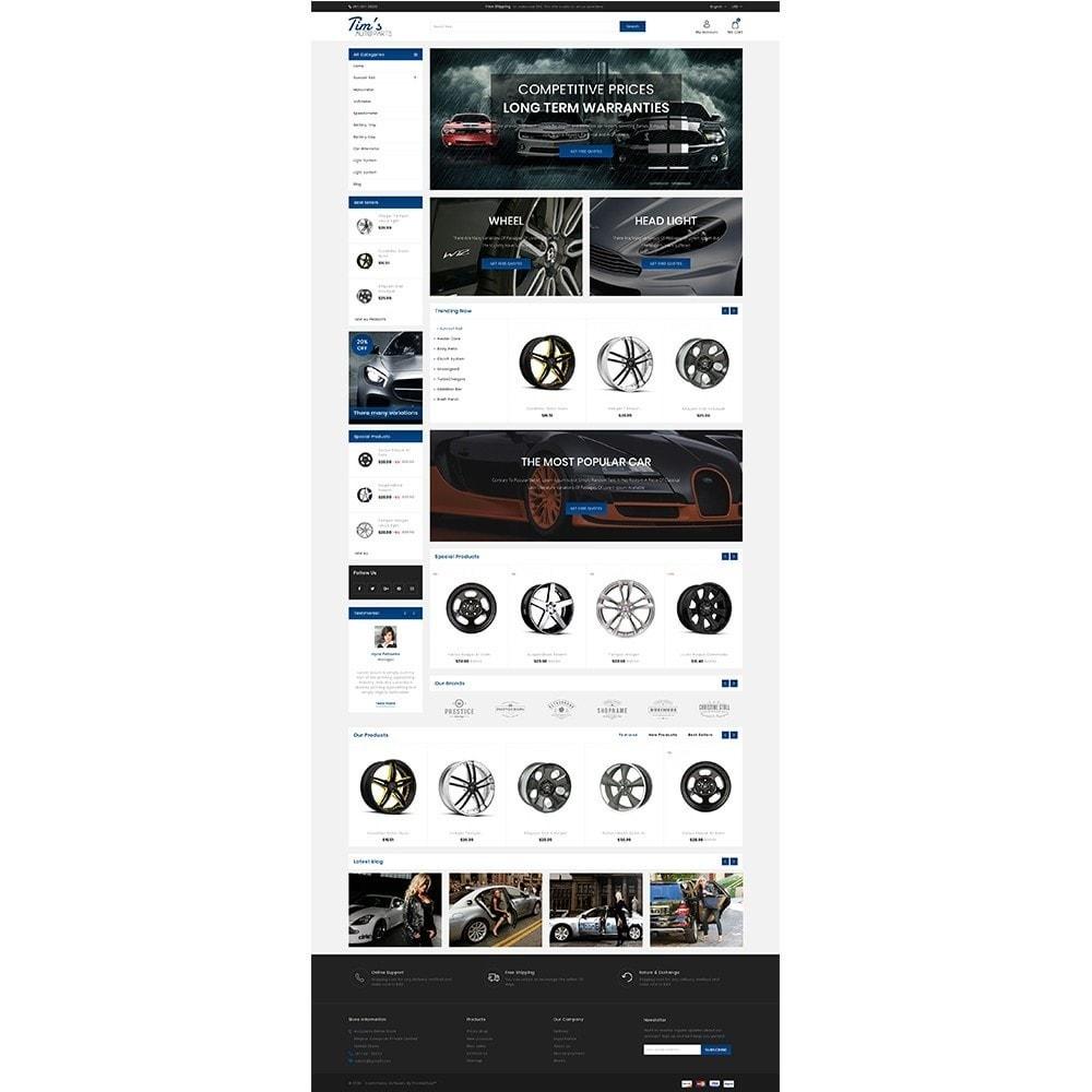 theme - Auto & Moto - Tim's Autoparts Store - 2