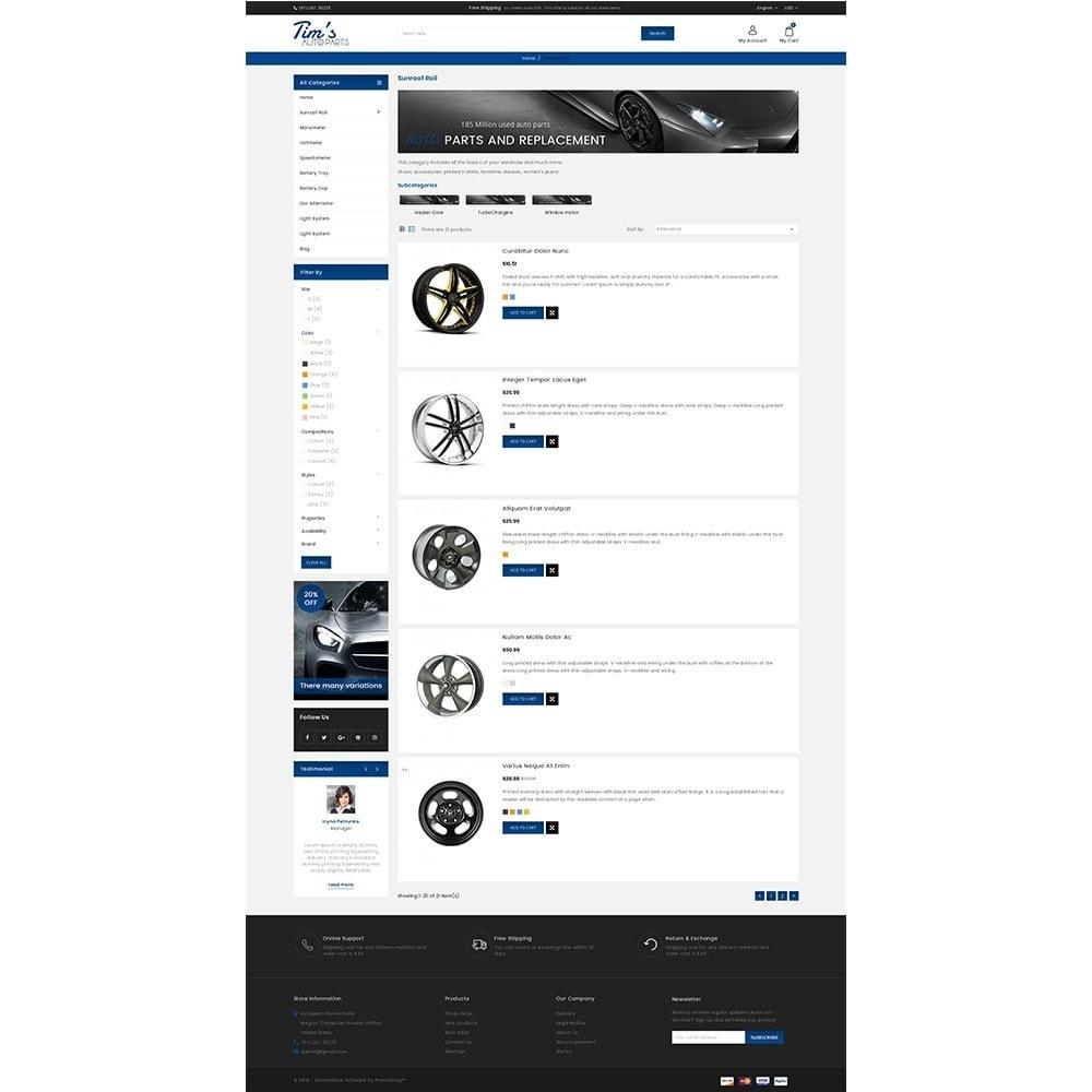theme - Auto & Moto - Tim's Autoparts Store - 4