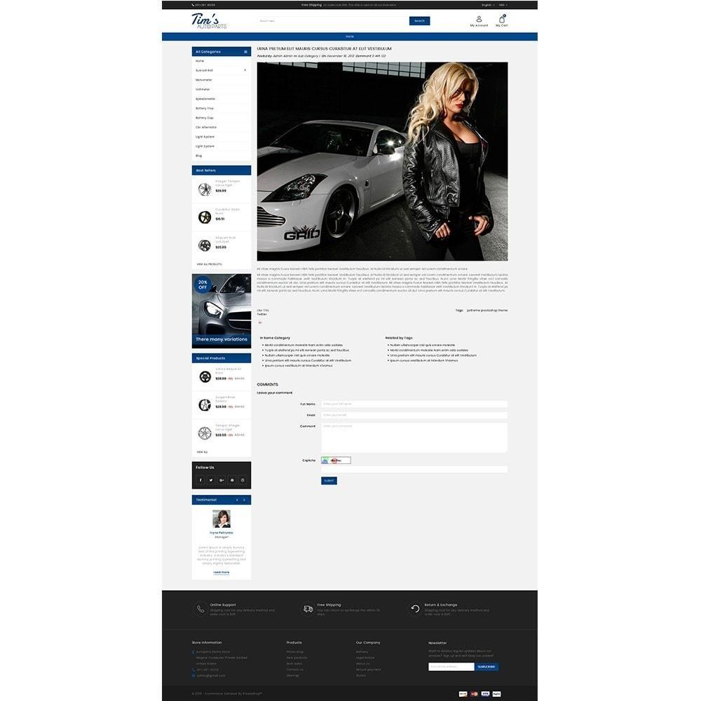 theme - Autos & Motorräder - Tim's Autoparts Store - 6