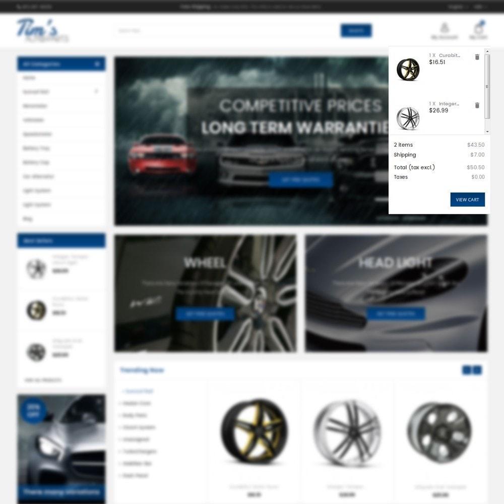theme - Autos & Motorräder - Tim's Autoparts Store - 8