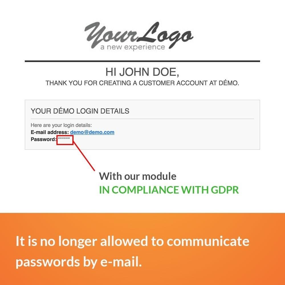 module - Juridisch - GDPR - No Password Sent - 3