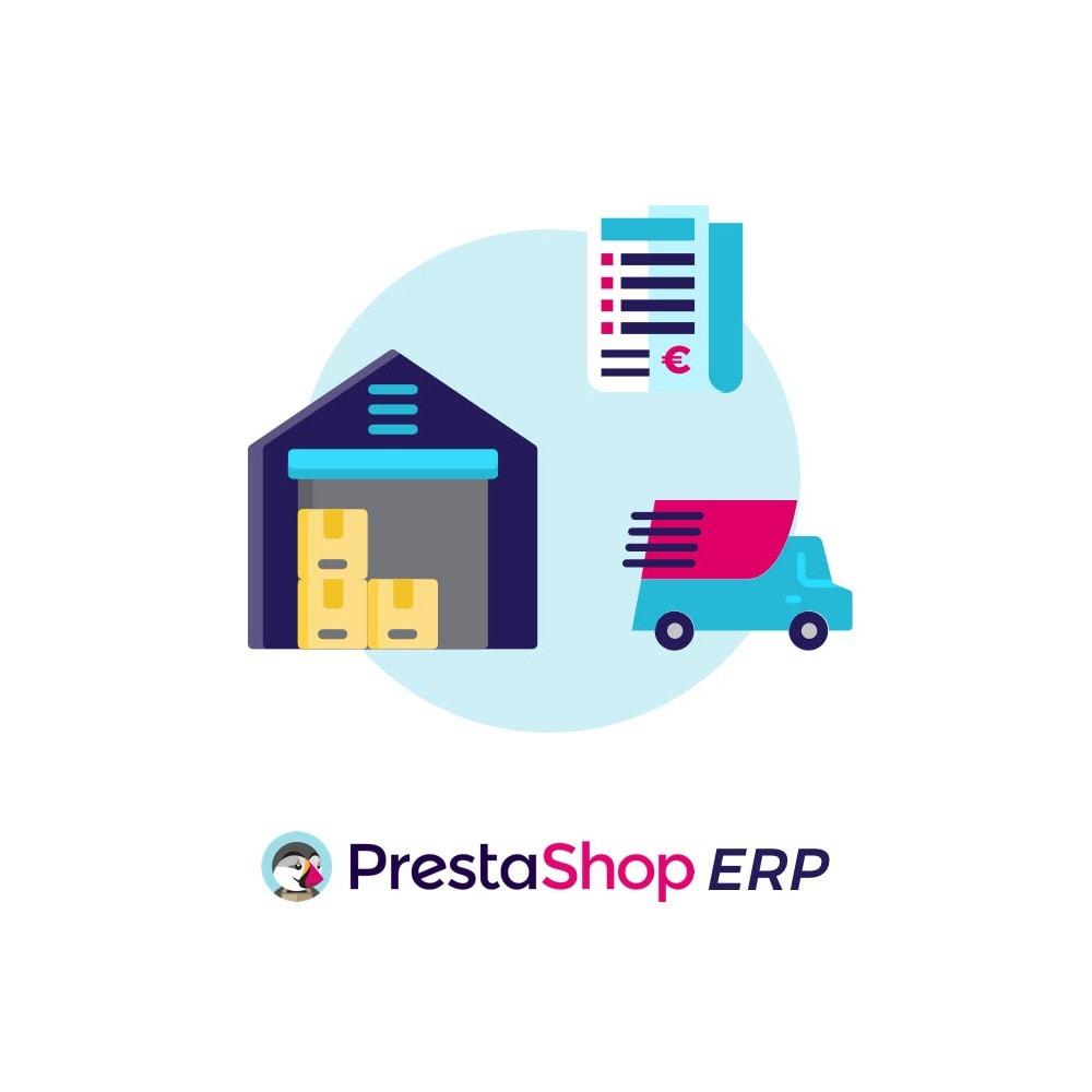 module - Modules PrestaShop - Prestashop ERP - Menu - 1