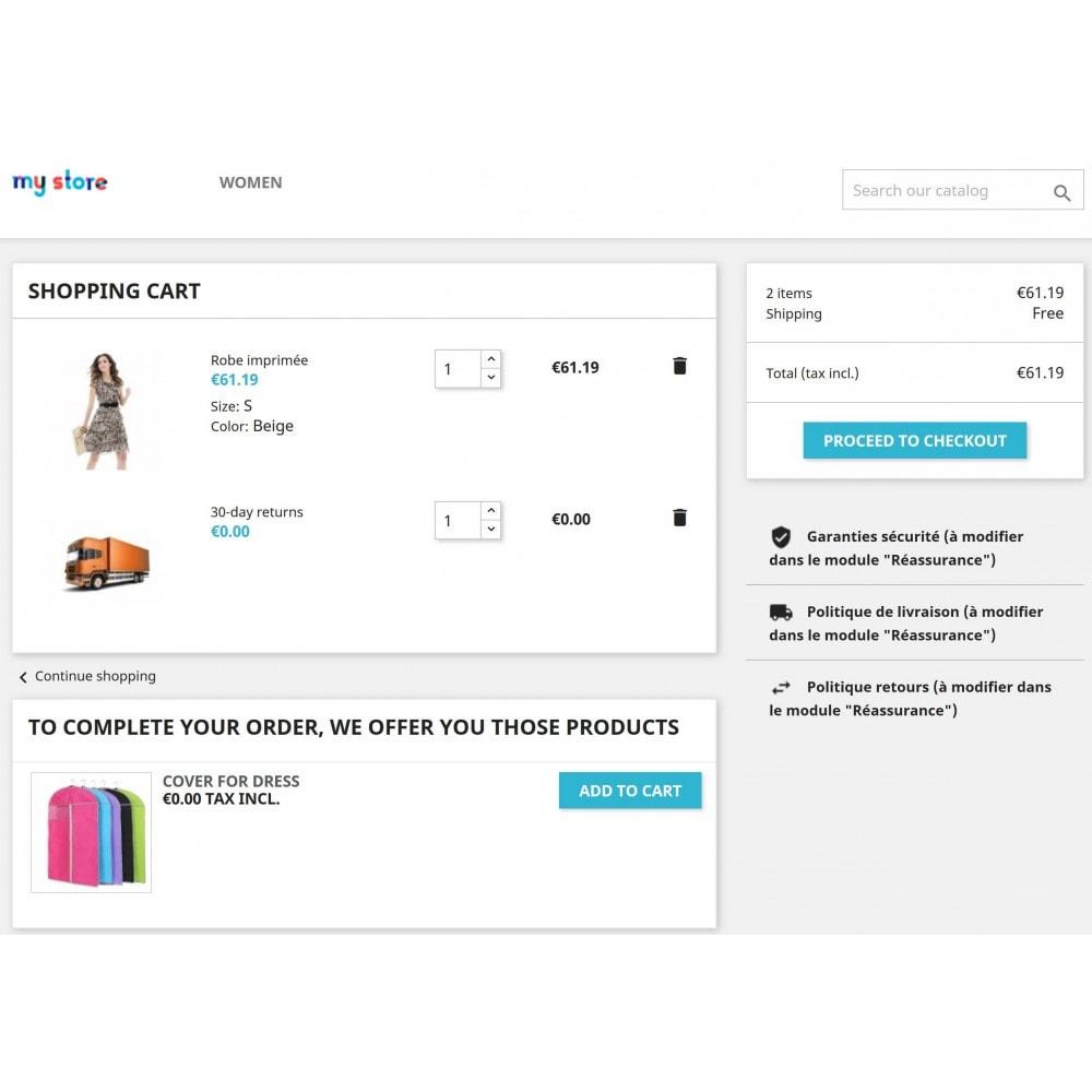 module - Перекрестные продажи и Создание комплектов - Add Automatically Products In Cart - 5