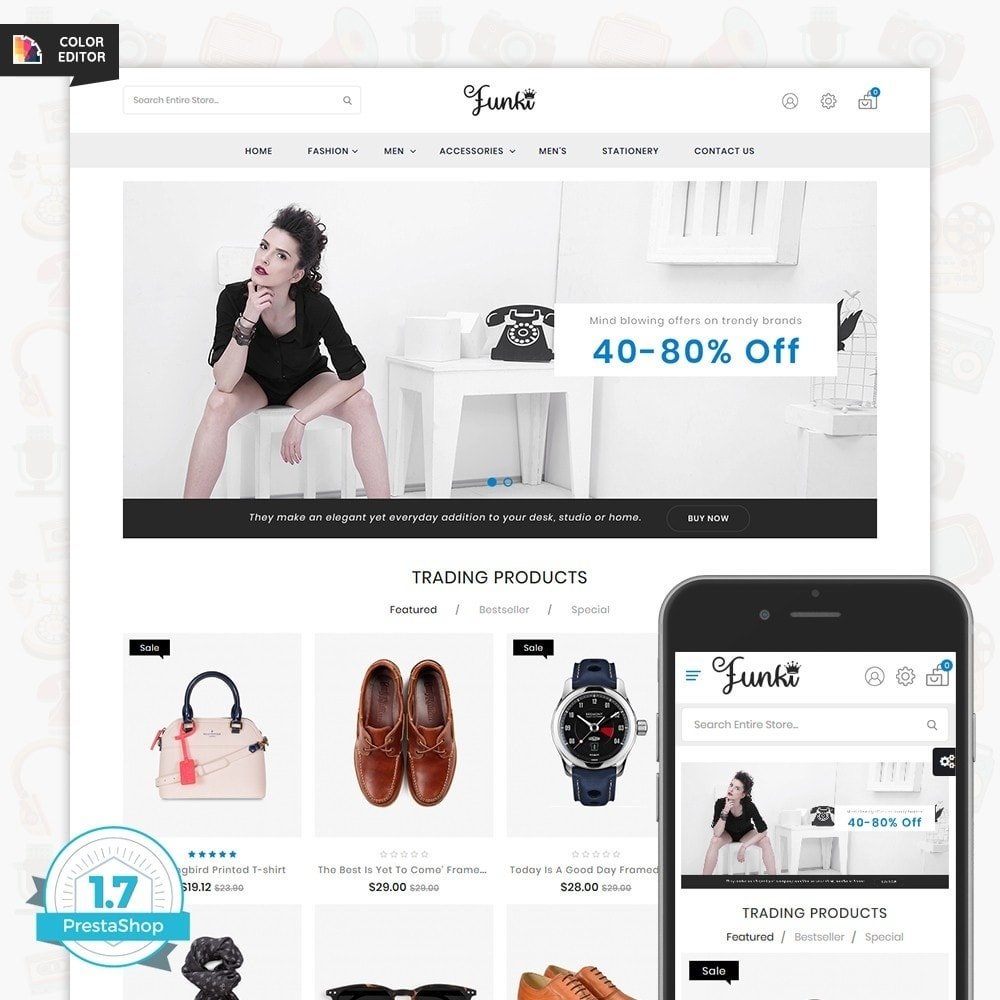 theme - Moda & Obuwie - Funki - Fashion Store - 1