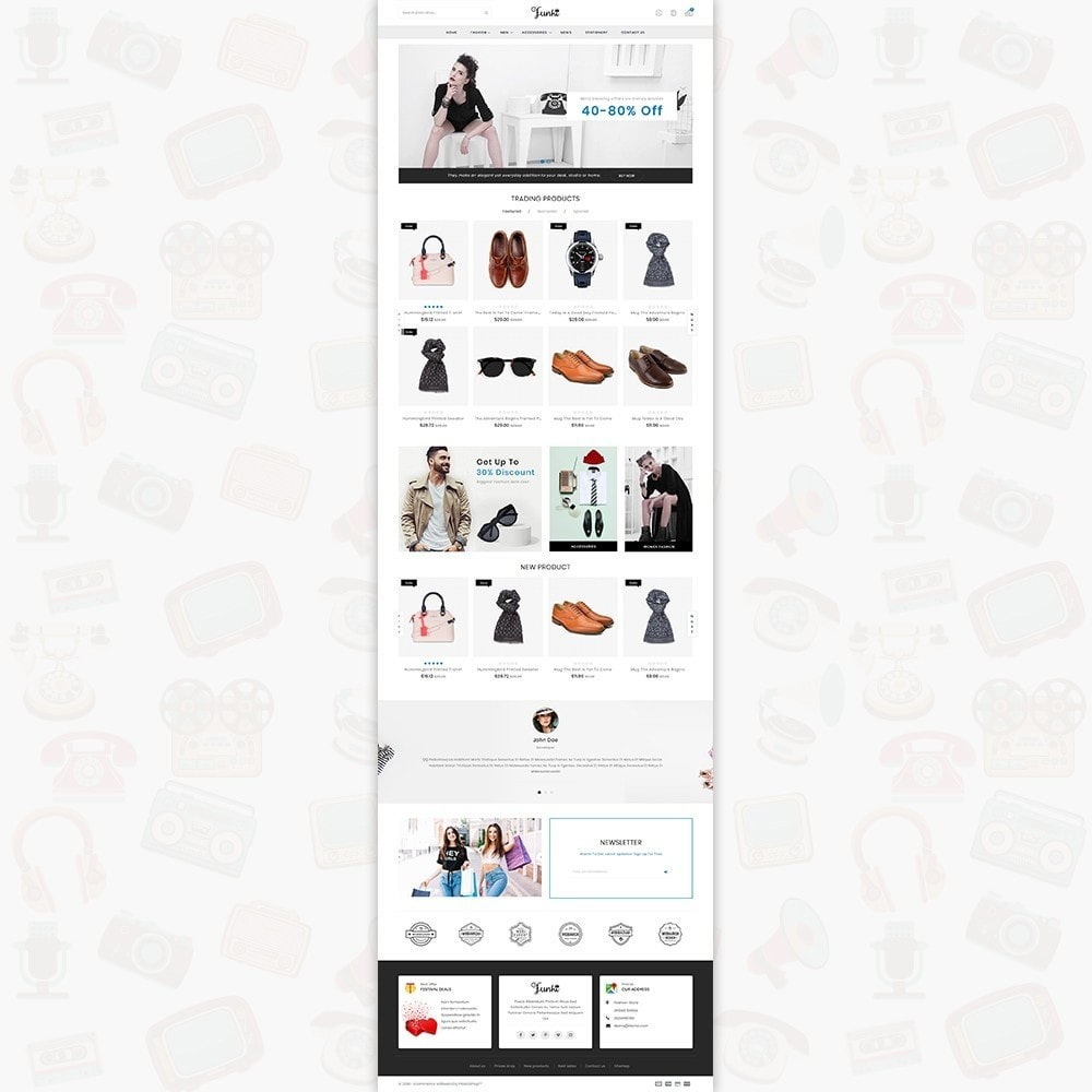 theme - Moda & Obuwie - Funki - Fashion Store - 2