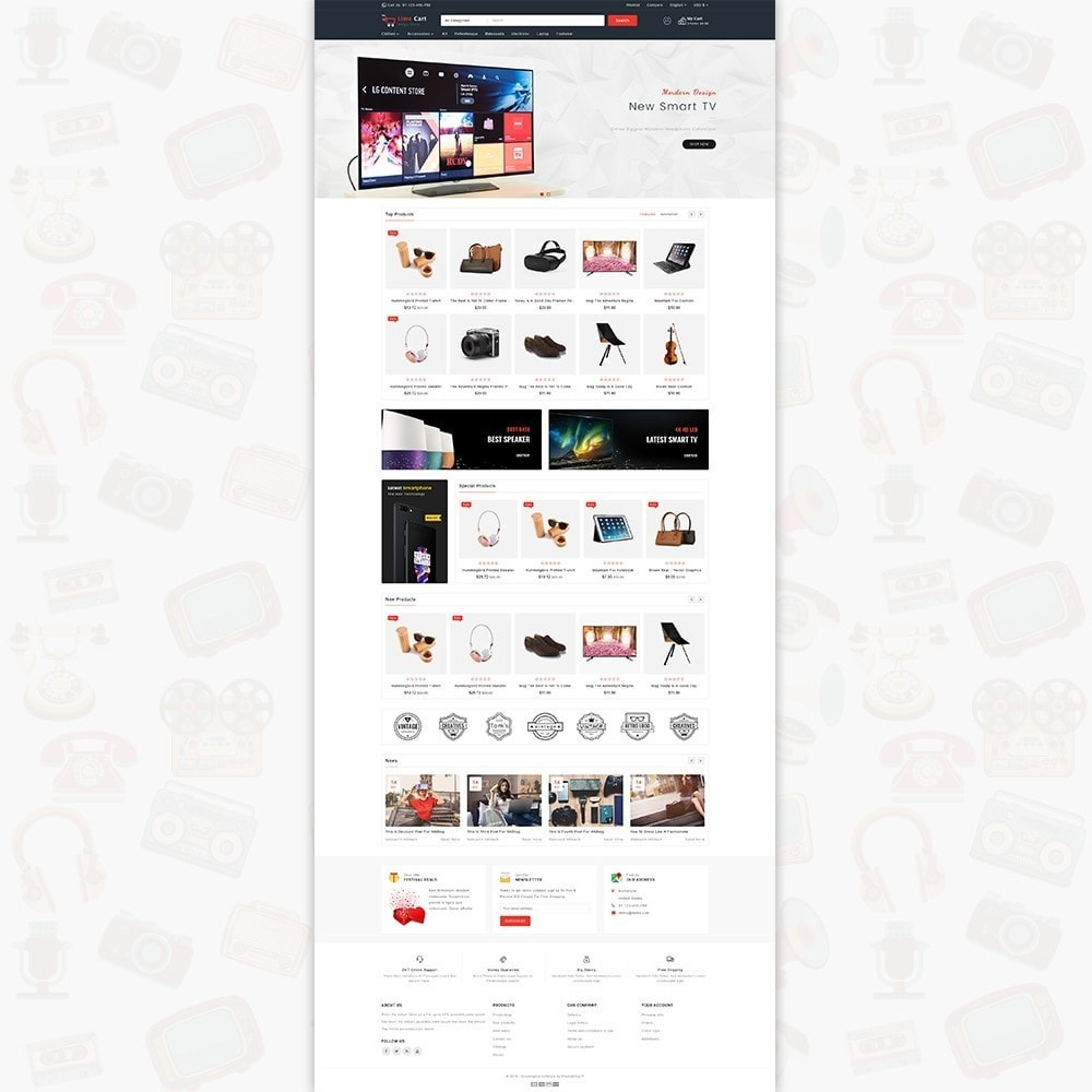 theme - Elettronica & High Tech - LimeCart - The Mega Ecommerce Store - 2