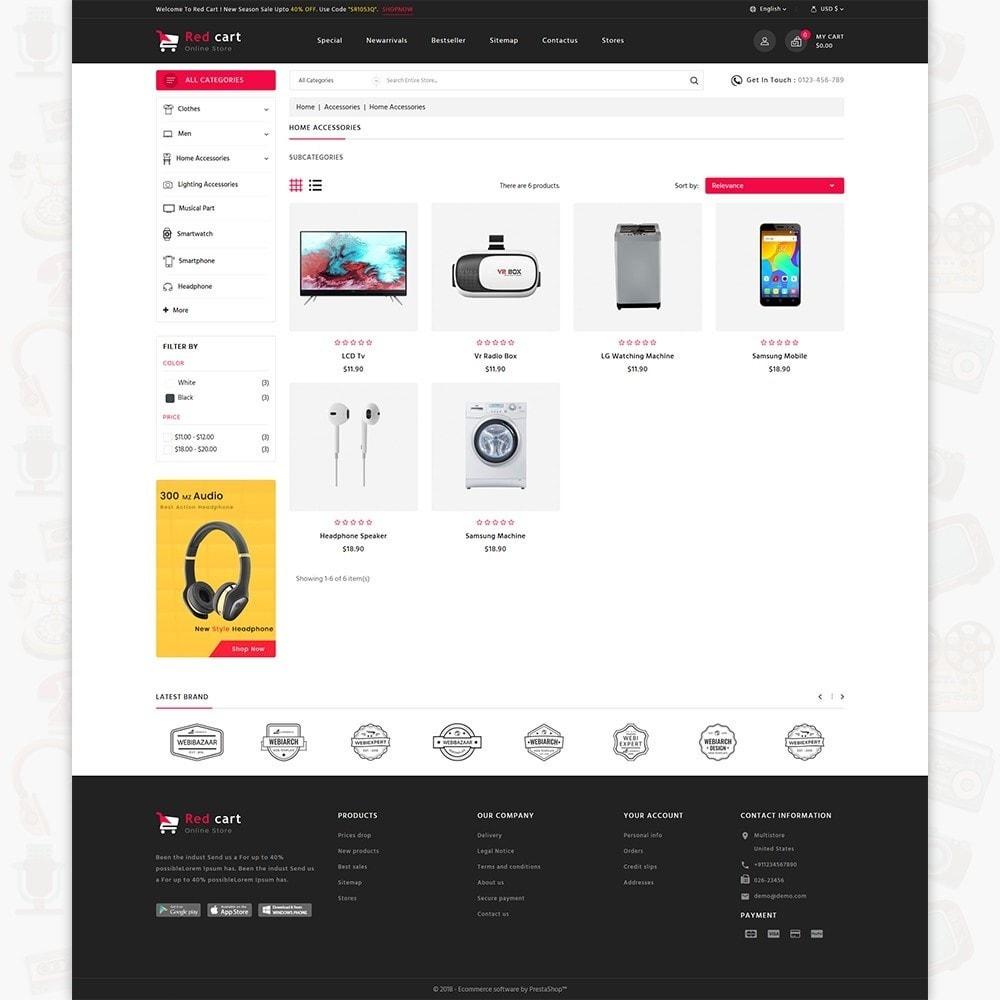 theme - Electronics & Computers - RedCart - The Mega Ecommerce Store - 3