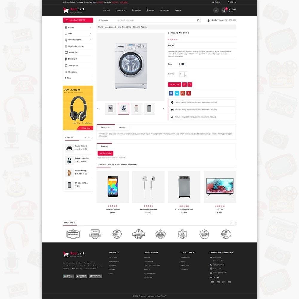 theme - Elektronica & High Tech - RedCart - The Mega Ecommerce Store - 5