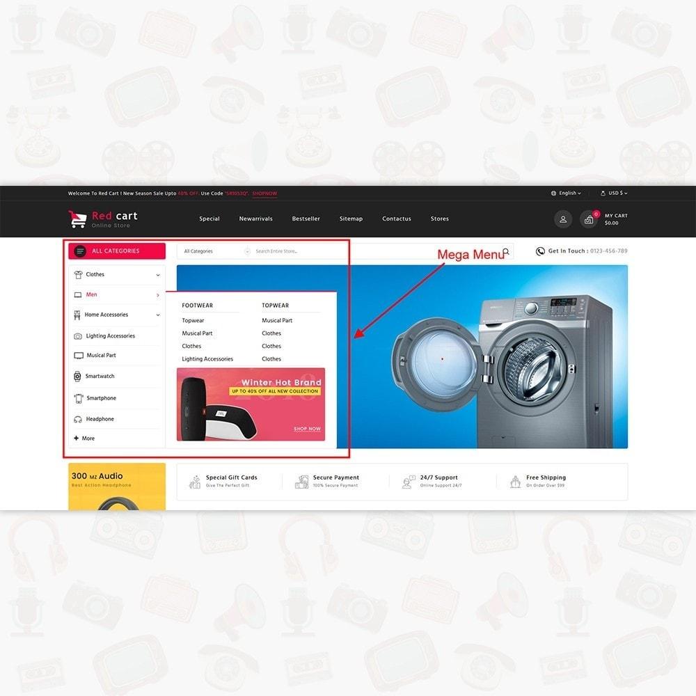theme - Electronics & Computers - RedCart - The Mega Ecommerce Store - 8