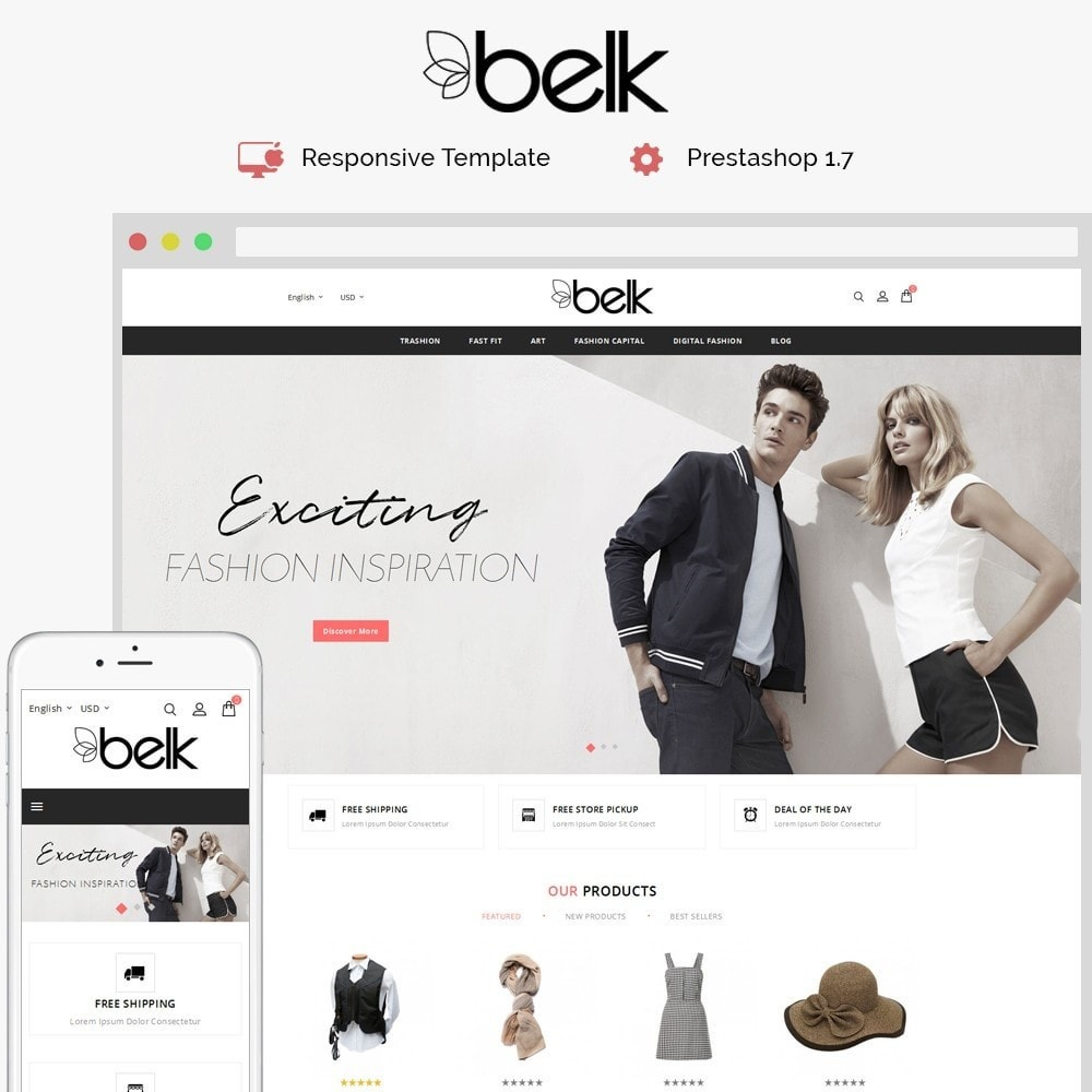 theme - Fashion & Shoes - Belk Fashion Store - 1