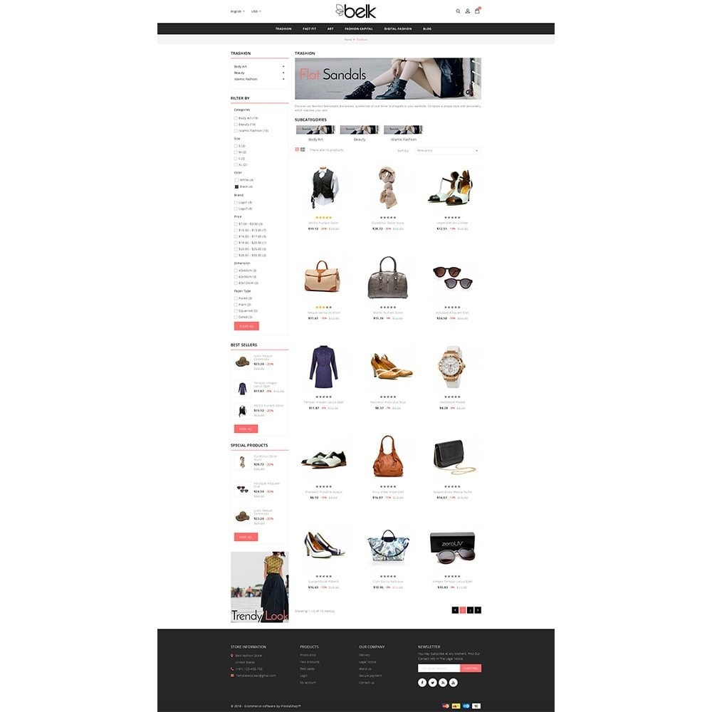 theme - Fashion & Shoes - Belk Fashion Store - 3