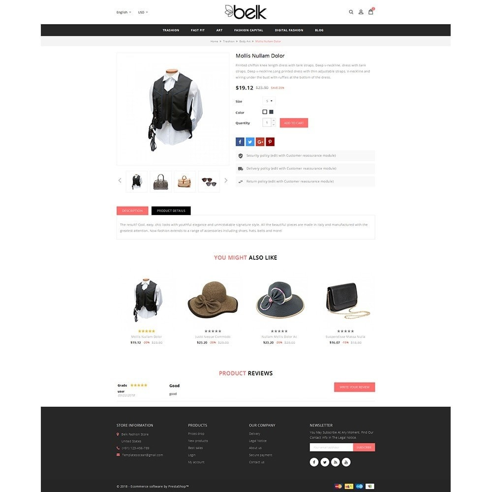 theme - Fashion & Shoes - Belk Fashion Store - 5