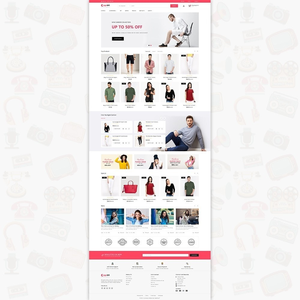theme - Elettronica & High Tech - MegaBit - The E-commerce Shop - 2