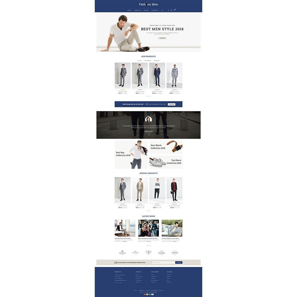 theme - Mode & Schoenen - Fashionmen Demo Store - 2