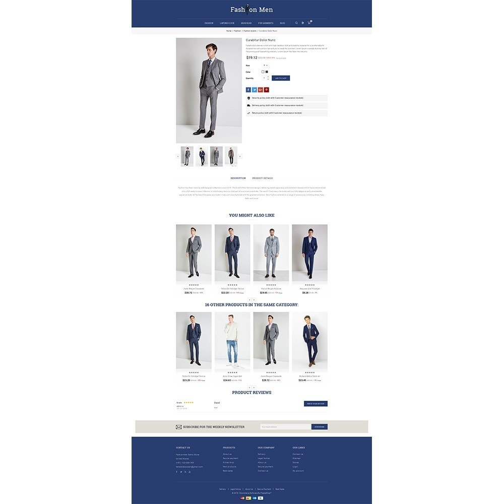 theme - Mode & Schoenen - Fashionmen Demo Store - 5