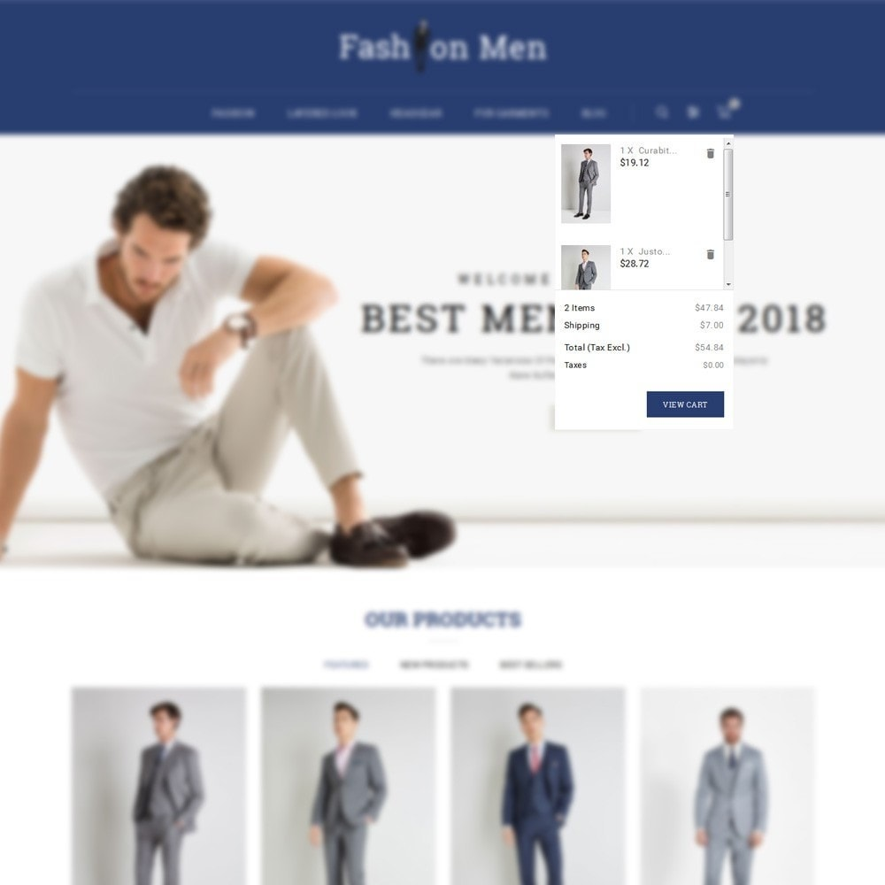 theme - Mode & Schoenen - Fashionmen Demo Store - 7