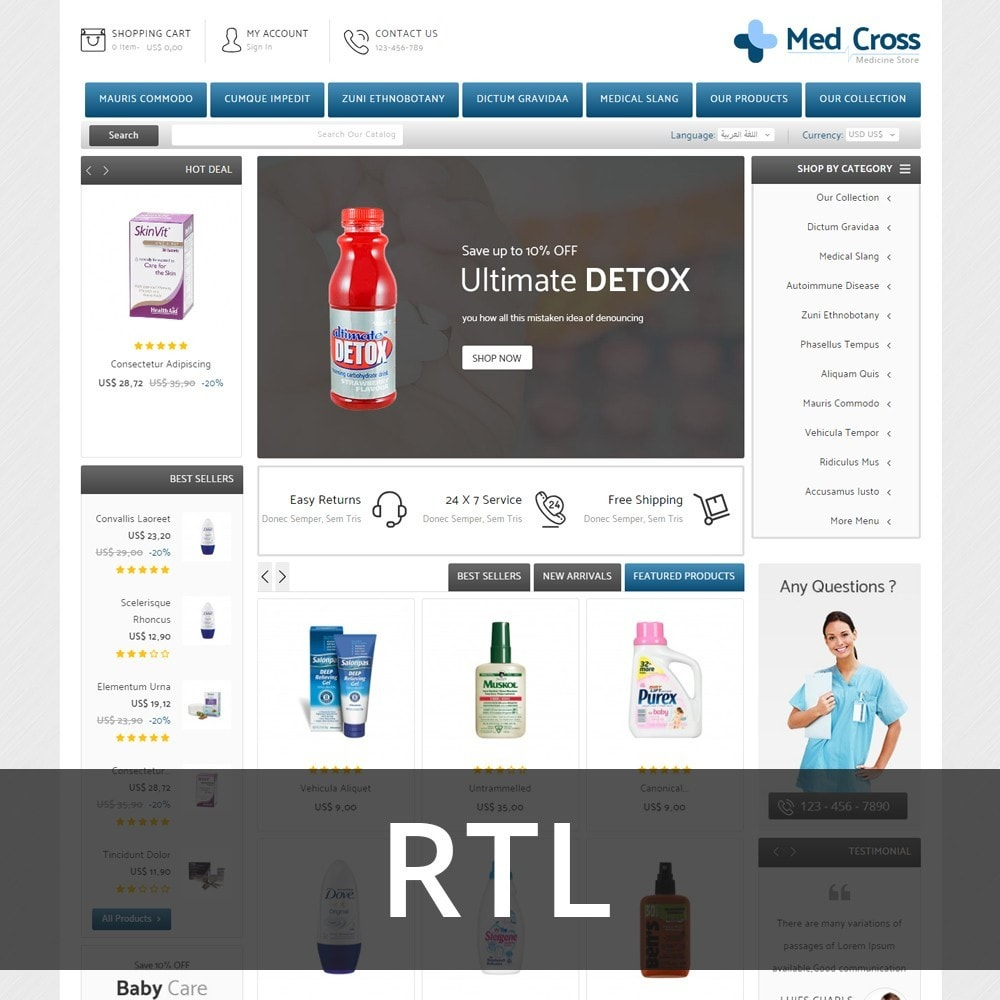 theme - Santé & Beauté - Medcross - The Medical Shop - 4