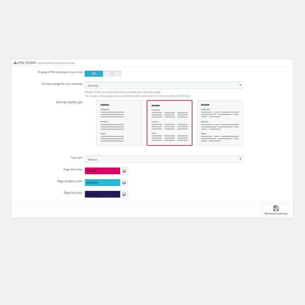 module - SEO - Sitemap Generator voor SEO (XML & HTML) - 9