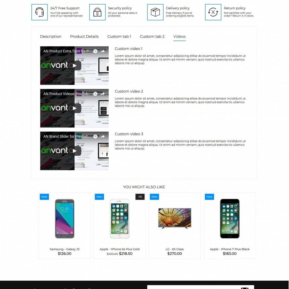 theme - Elektronik & High Tech - Venge - High-tech Shop - 9