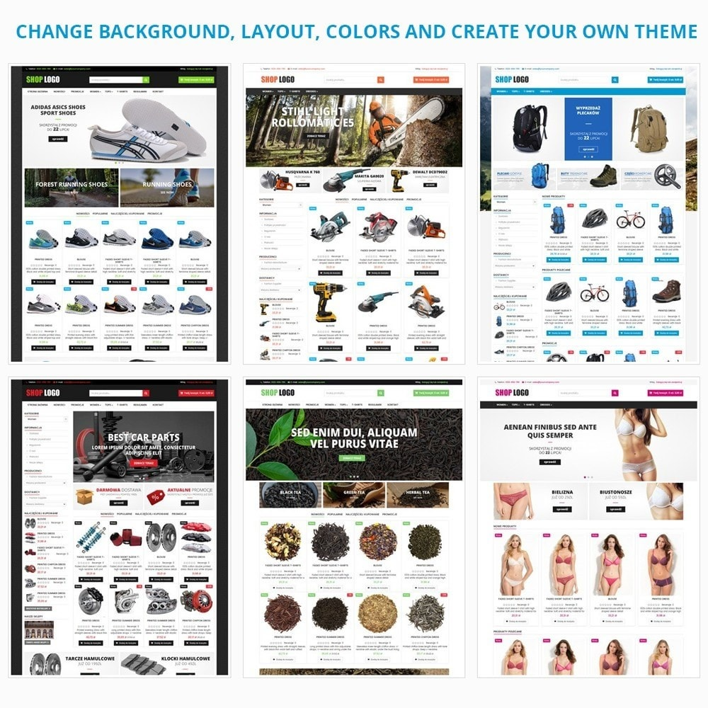 theme - Carros & Motos - AT19 Black - Motorcycles cloths and parts store - 13