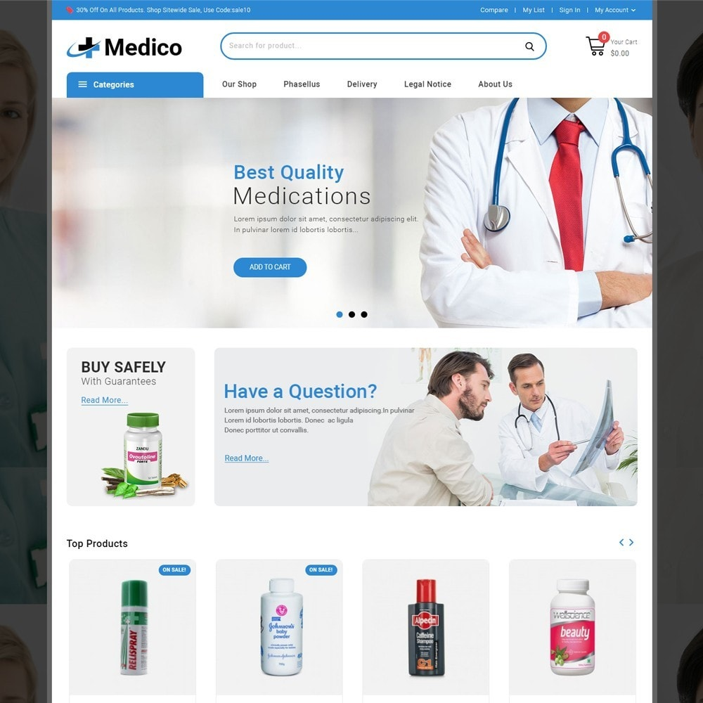 theme - Salute & Bellezza - Medico - The Medical Store - 2