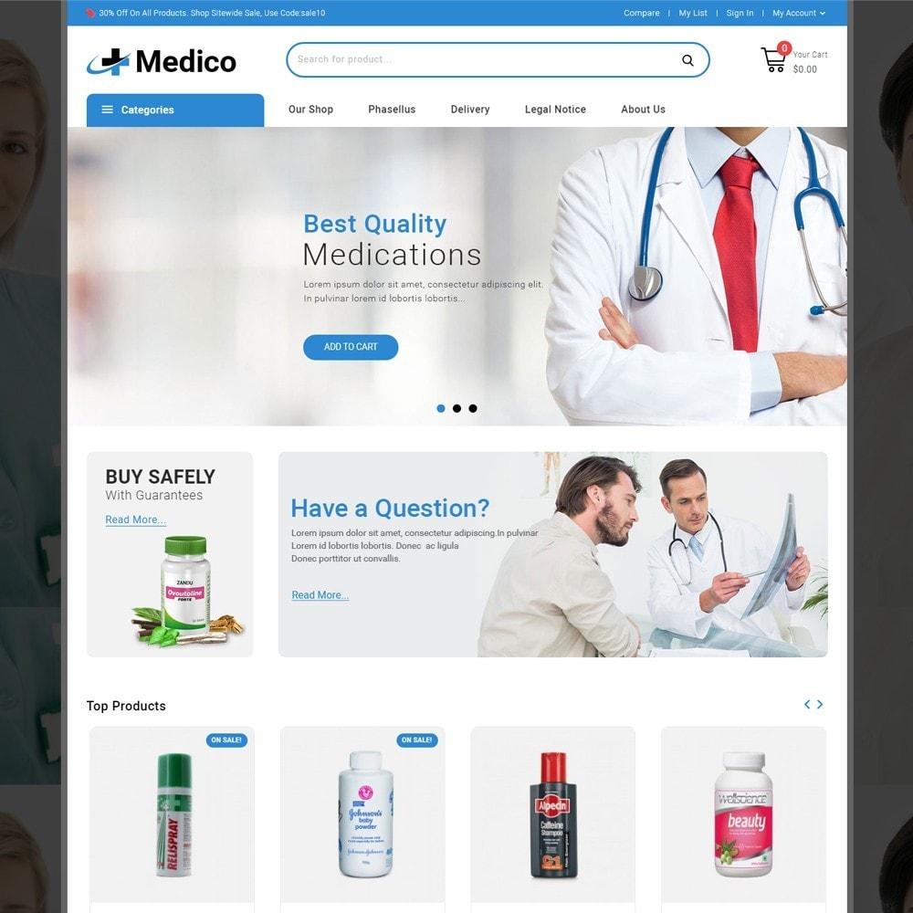 theme - Salud y Belleza - Medico - The Medical Store - 2