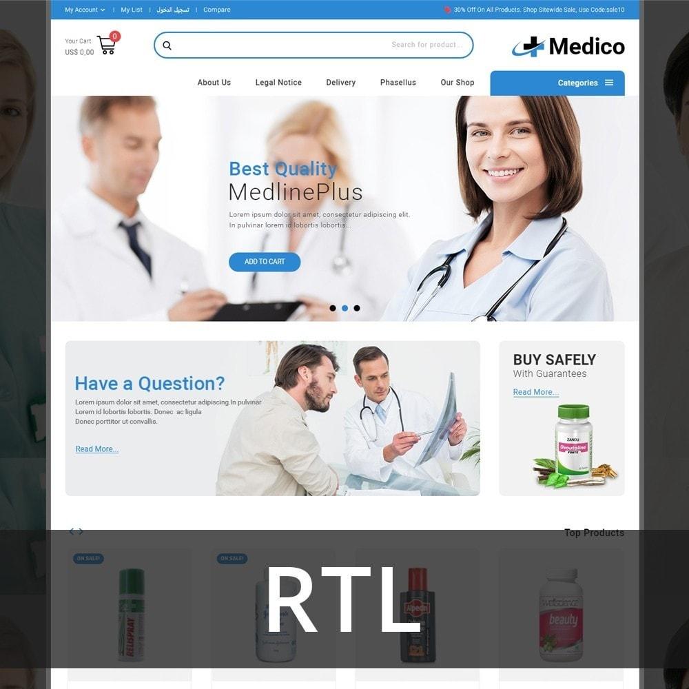 theme - Salud y Belleza - Medico - The Medical Store - 3