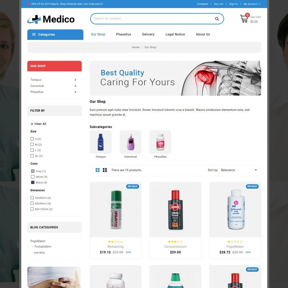 theme - Salute & Bellezza - Medico - The Medical Store - 4