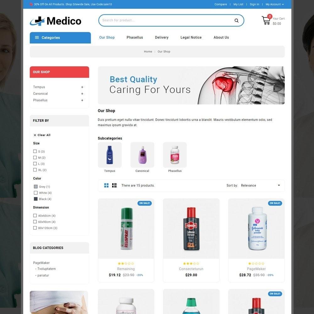 theme - Salud y Belleza - Medico - The Medical Store - 4