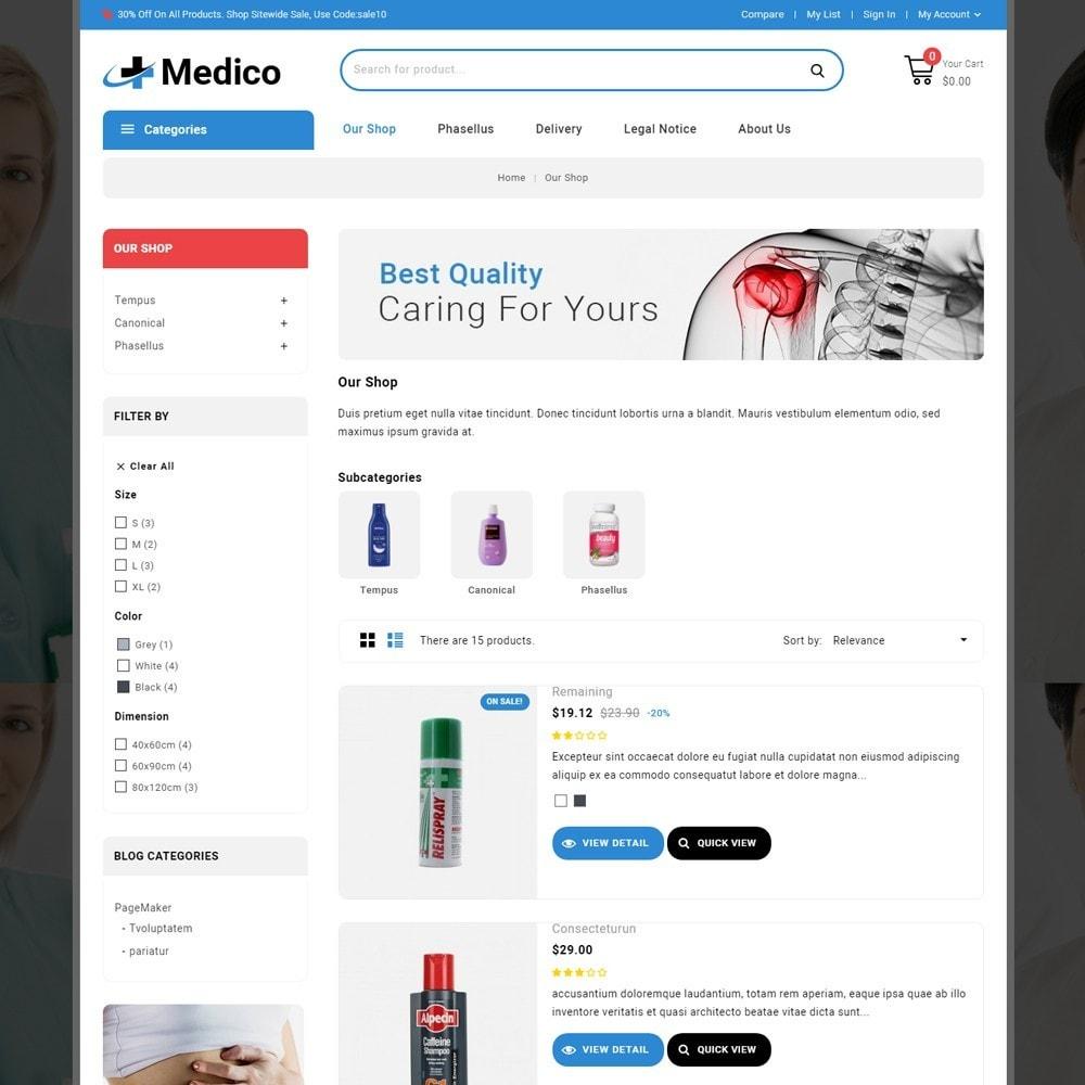 theme - Salud y Belleza - Medico - The Medical Store - 5