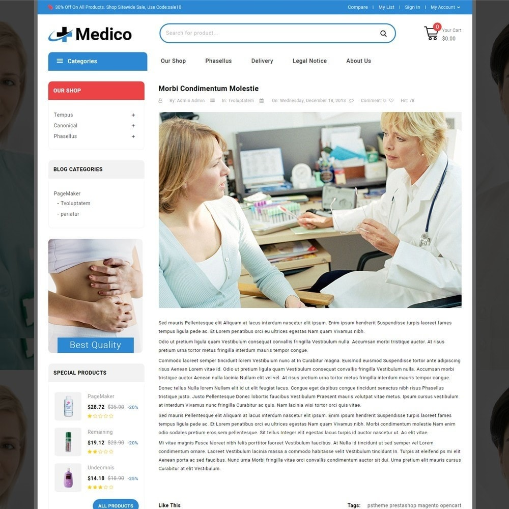 theme - Salute & Bellezza - Medico - The Medical Store - 7