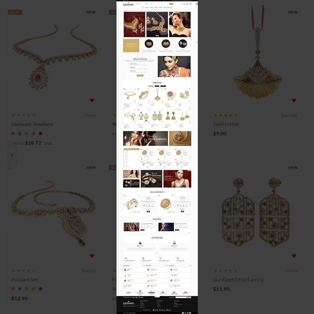theme - Bellezza & Gioielli - Gold Shine – Jeweler Shop - 2