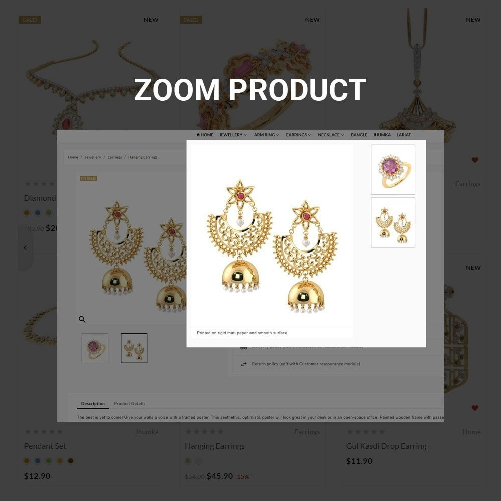 theme - Bellezza & Gioielli - Gold Shine – Jeweler Shop - 6