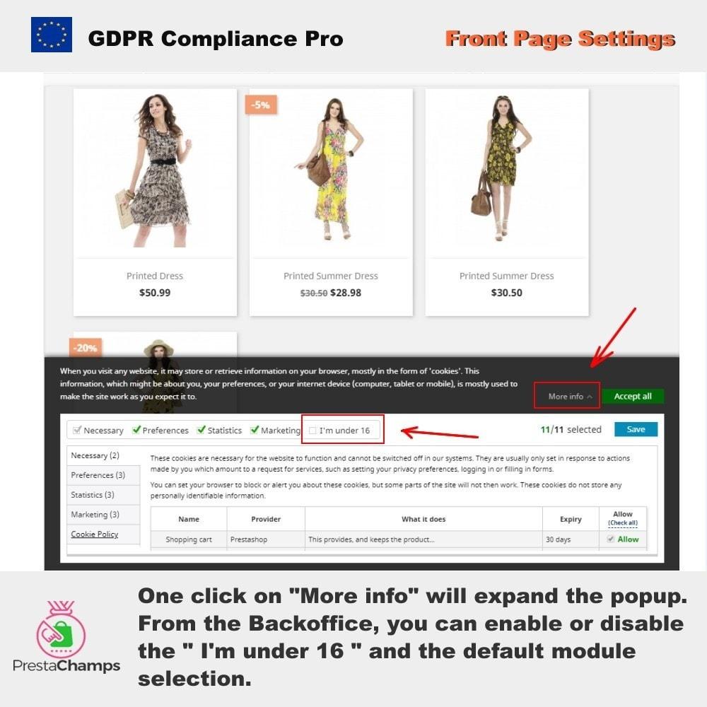 module - Rechtssicherheit - GDPR Compliance Pro - 3