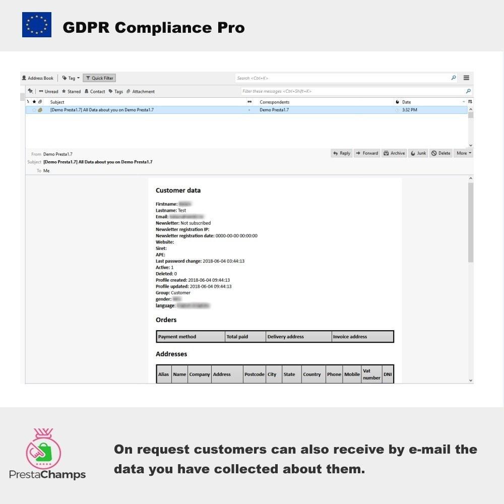 module - Rechtssicherheit - GDPR Compliance Pro - 11