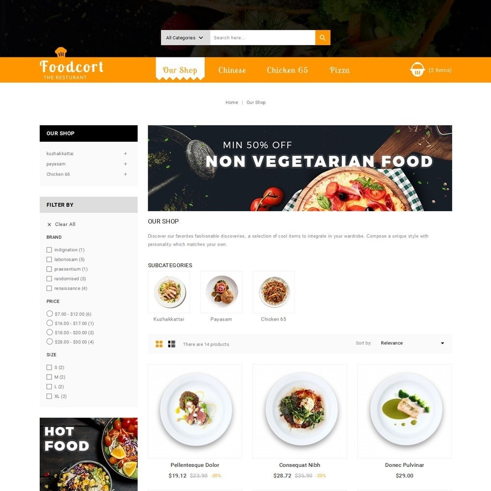 theme - Lebensmittel & Restaurants - Foodcort Restaurant - 4