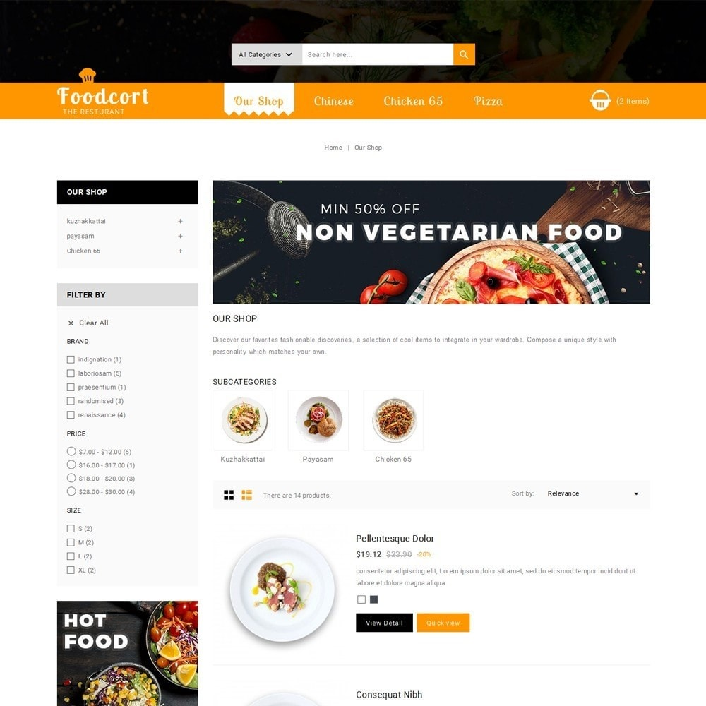 theme - Lebensmittel & Restaurants - Foodcort Restaurant - 5