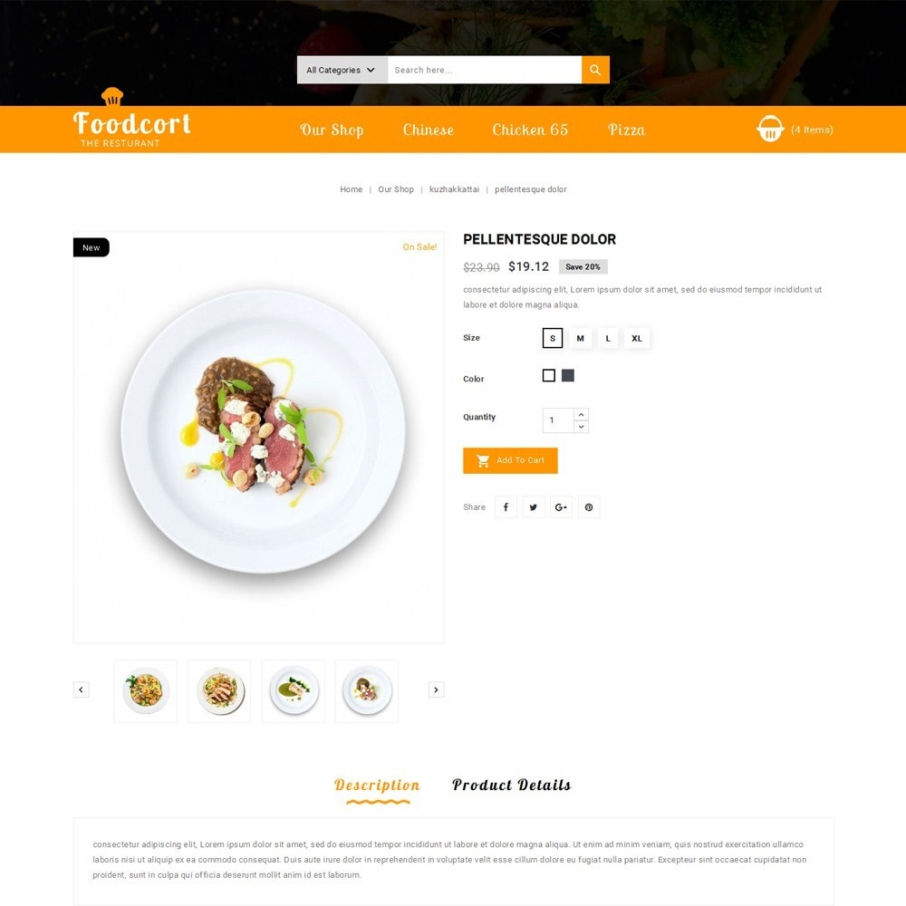theme - Lebensmittel & Restaurants - Foodcort Restaurant - 6