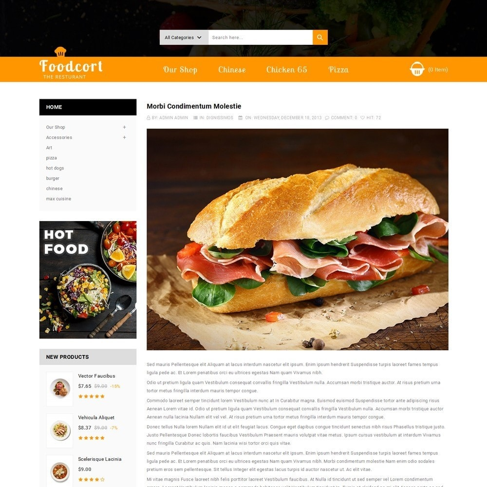 theme - Lebensmittel & Restaurants - Foodcort Restaurant - 7